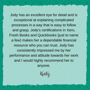 Jody Seibert bookkeeping coach review