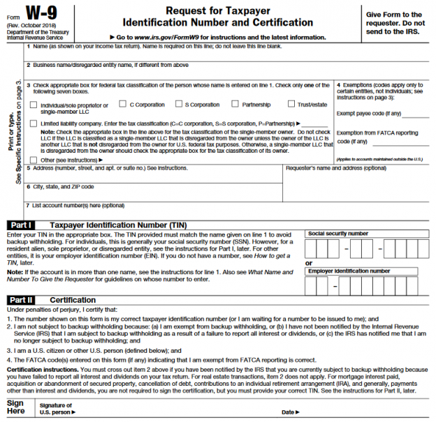 w9 tax form  IRS Form W-8 is a valuable tool for your business.